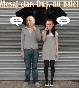 Basescu si Falca caricatura