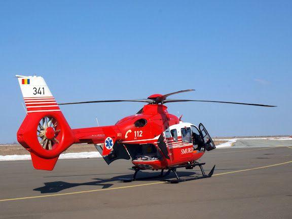 Un elicopter SMURD Iași s-a prăbușit în Moldova