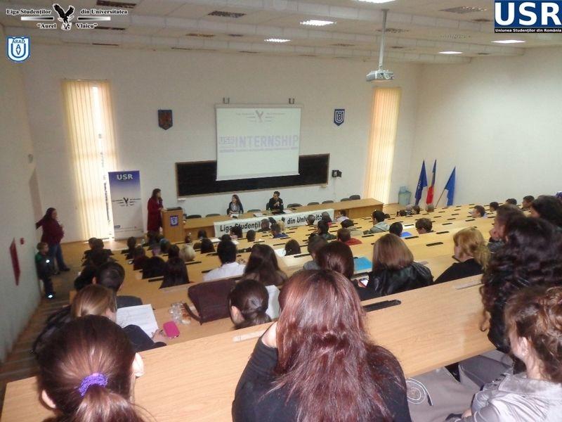 """A fost 2014 un an reusit pentru Liga Studentilor de la Universitatea """"Aurel Vlaicu"""""""