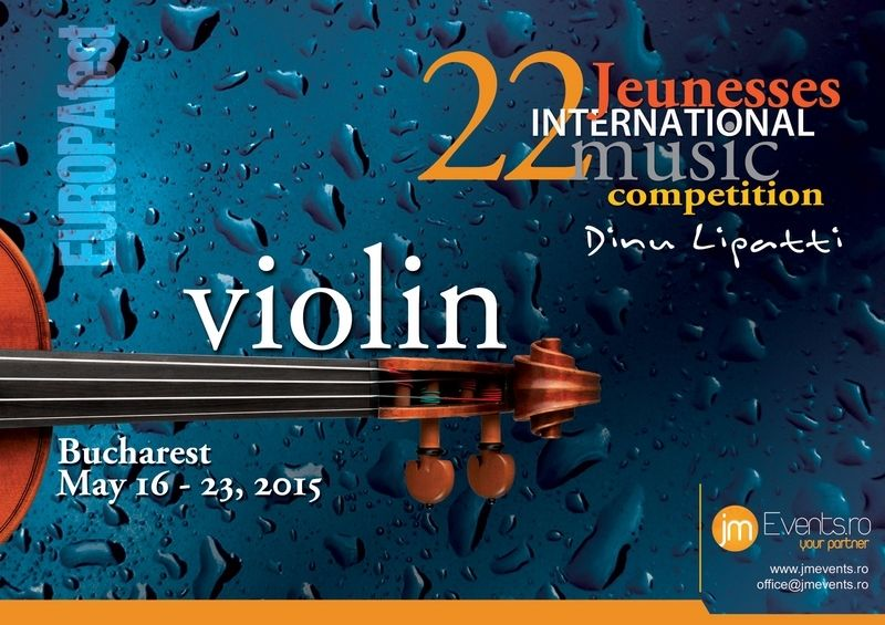"EUROPAfest 2015 lansează al doilea eveniment Jeunesses International Music Competition ""Dinu Lipatti"""