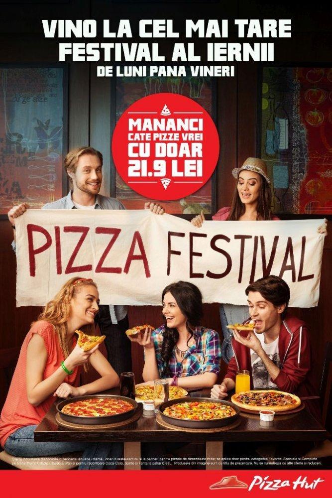 Pizza Hut te așteaptă la cel mai tare festival al iernii