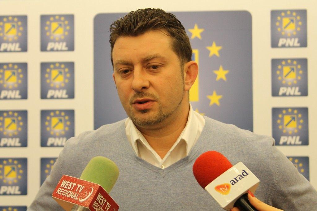 Călin Abrudan se retrage din cursa pentru șefia PNL Arad