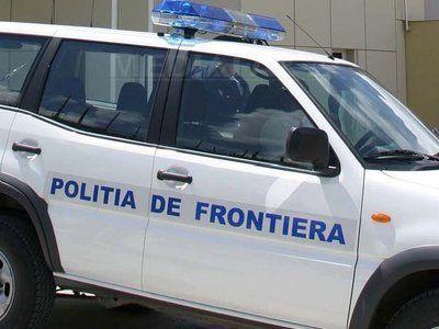 UN SOFER CU PERMISUL SUSPENDAT A FOST PRINS DE POLITISTII DE FRONTIERA