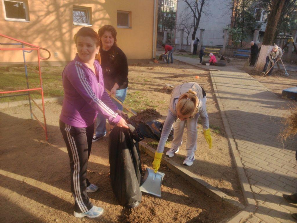 Ora de curatenie la Gradinita PP 15 din Arad
