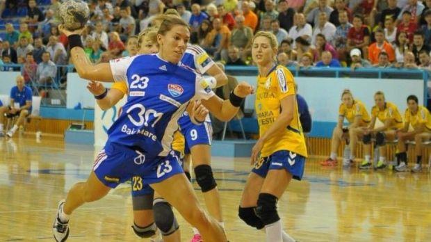 O handbalista de la HCM Baia Mare  a fost talharita in fata casei