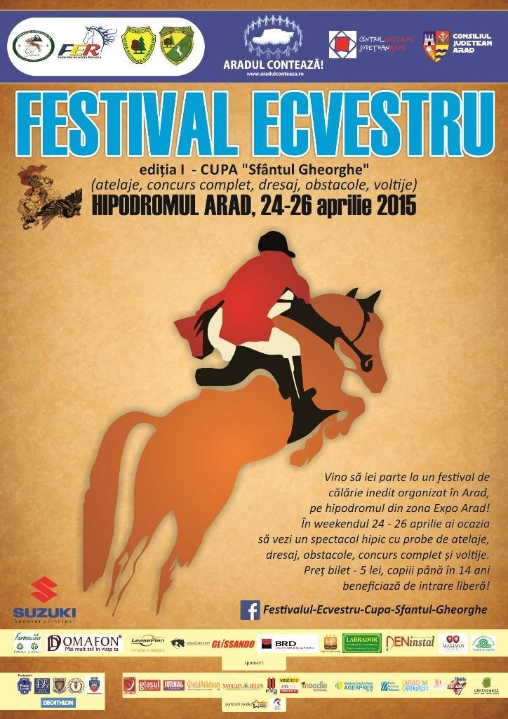 Aradul organizeaza cel mai mare festival ecvestru