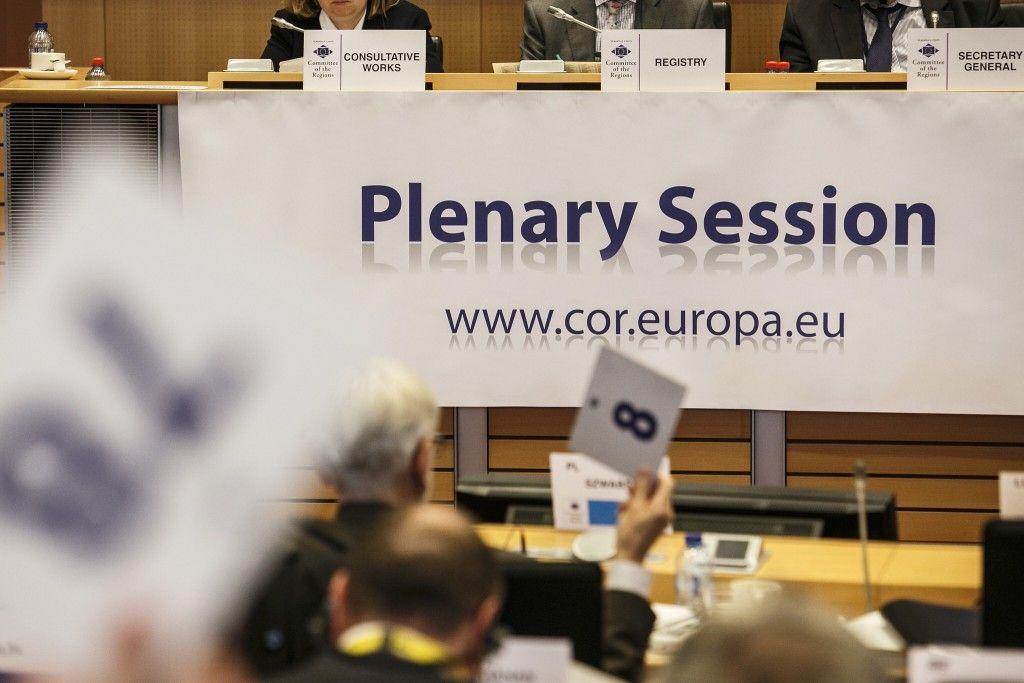 Primarul Gheorghe Falcă a participat la Sesiunea plenară a Comitetului European al Regiunilor