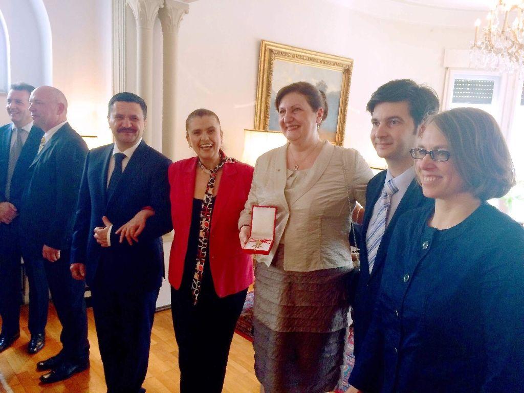 Rodica Talmaciu a primit distinctie de la Ambasada Austriaca