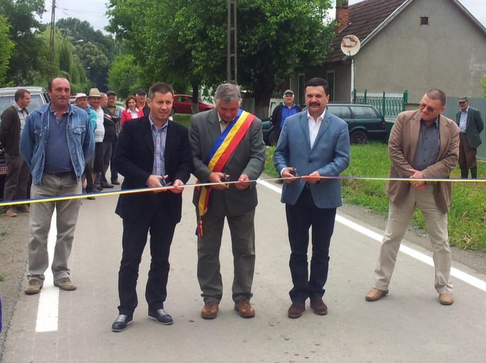 Drumul ce leagă Bata de Bulci a fost modernizat