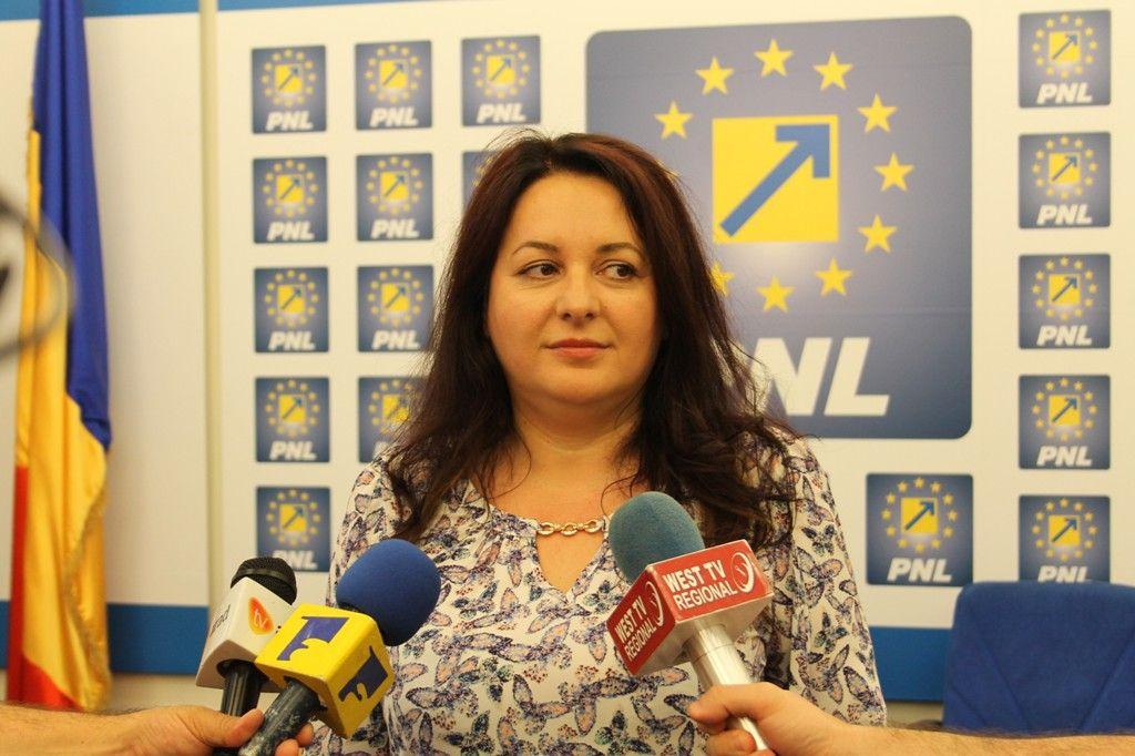 Geanina Pistru susține alegerea noului viceprimar, Călin Bibarț