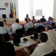 Senatorul Constantin Traian Igaș la ședința Asociației Comunelor din România