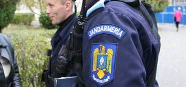 Jandarmii aradeni au intervenit la un scandal al unui chirias