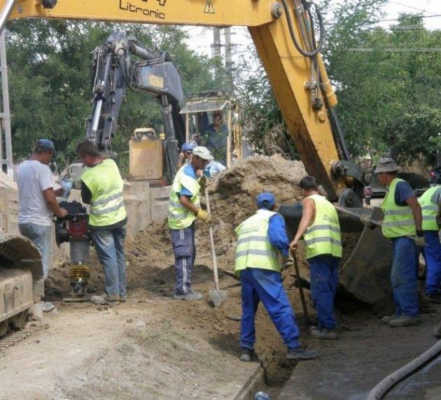 Lucrările de cuplare în orașul Ineu duc la întreruperea apei potabile