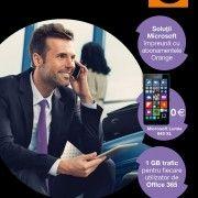 Orange anunță un nou parteneriat cu Microsoft