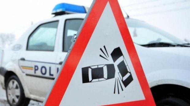 DN7 este blocat pe ambele sensuri, din cauza unui accident rutier