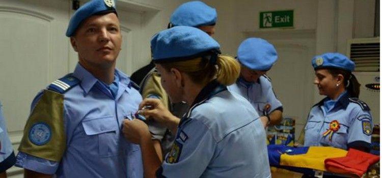 ONU a acordat o distinctie unui jandarm roman