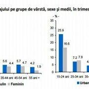 INS: RATA SOMAJULUI IN ROMANIA A SCAZUT IN T3 PANA LA 6,5%