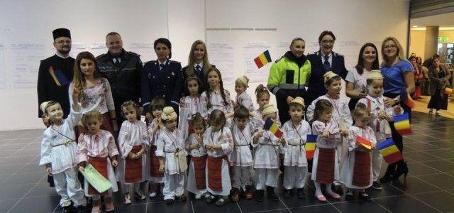 """1 DECEMBRIE LA ATRIUM MALL CU """"CETATEA VOLUNTARILOR"""" ARAD"""