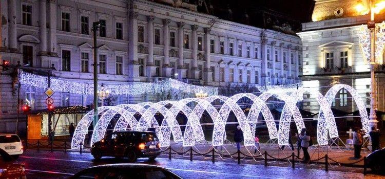 Revelionul se sarbatoreste pe platoul Primariei Arad. Vezi programul