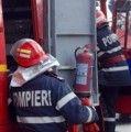 Prahova: Incendiu la un vagon cu 56 tone de benzină, traficul feroviar între Buşteni şi Azuga este blocat