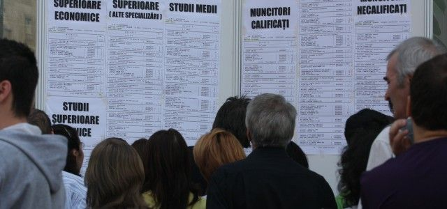 ANOFM: RATA SOMAJULUI LA NIVEL NATIONAL A SCAZUT LA 4,88%, IN OCTOMBRIE