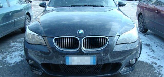 UN AUTOTURISM FURAT DIN ITALIA A FOST DEPISTAT LA FRONTIERA NADLAC