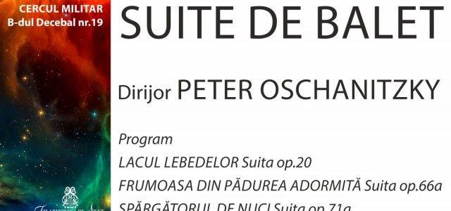 FILARMONICA DE STAT ARAD ESTE GAZDA SUITELOR DE BALET AFLATE SUB BAGHETA MAESTRULUI PETER OSCHANITZKY