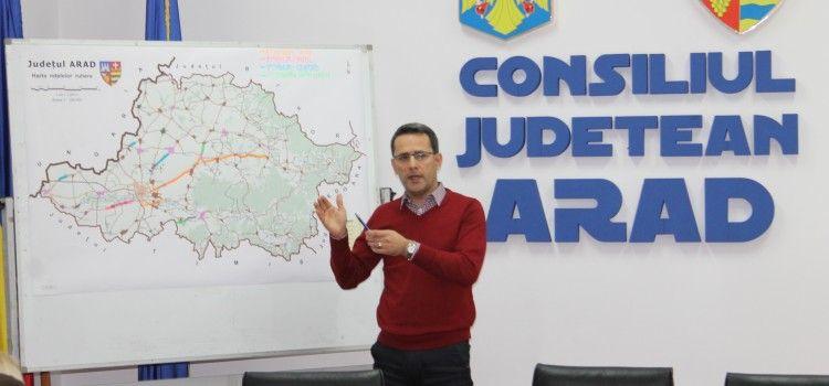 """ADRIAN TOLEA: """"AM ALOCAT 52 MILIOANE DE LEI DIN FONDURI PROPRII, PENTRU DRUMURILE JUDETENE"""""""