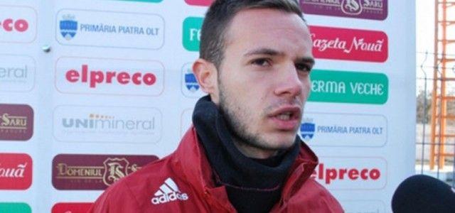 Arădeanul Flavius Cuedan va juca în Liga 1