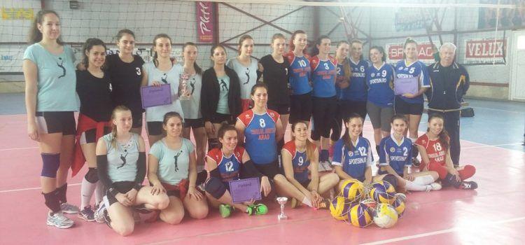 """Politehnica Timișoara a câștigat prima ediție """"Cupa Sportsin"""" la volei feminin"""