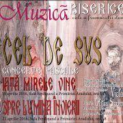 Săptămâna aceasta vor avea loc două concerte pascale, la Primăria Arad