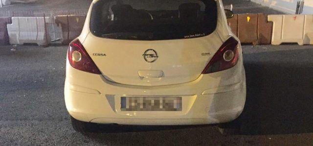 UN AUTOTURISM FURAT DIN FRANTA A FOST GASIT LA VAMA NADLAC
