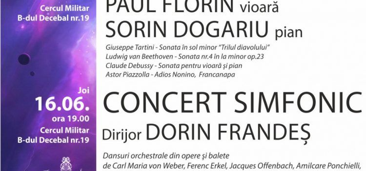 Maestrul Orchestrei Radio din Hamburg este invitatul unui concert cameral al Filarmonicii din Arad