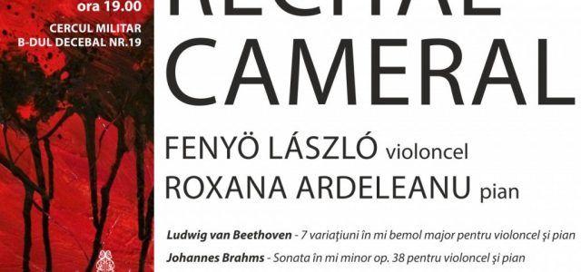 CELEBRUL VIOLONCELIST LASZLO FENYO REVINE LA ARAD, CU UN PROGRAM CAMERAL EXTRAORDINAR
