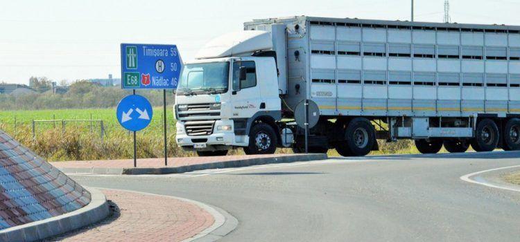 Primăria dorește un nou sens giratoriu în Arad