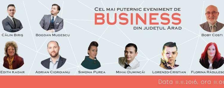 ABC-UL AFACERII TALE – cel mai puternic eveniment de business din Arad