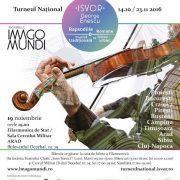 """Concert inedit: """"Isvor. George Enescu"""", sâmbătă 19 noiembrie"""
