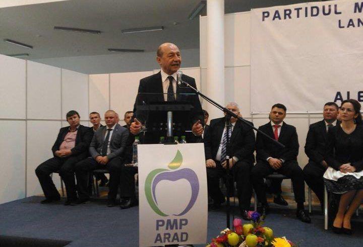 PMP Arad și-a lansat candidații pentru alegerile parlamentare