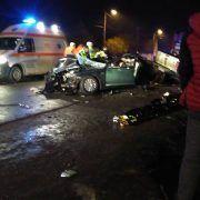 Victime într-un accident rutier la intrarea în comuna Șicula
