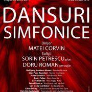 Dansuri simfonice, într-un concert extraordinar, cu invitați de prestigiu, la Filarmonica Arad