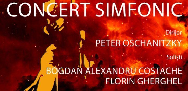 Soliștii Bogdan Alexandru Costache și Florin Gherghel, într-un concert fascinant, sub bagheta maestrului Peter Oschanitzky