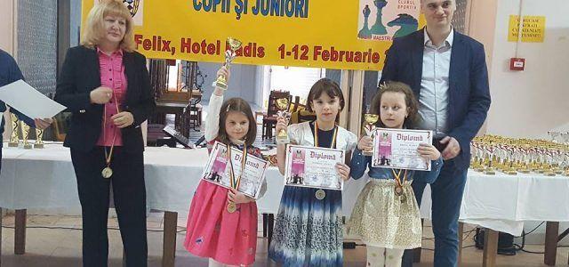 Rezultate excelente pentru șahiștii de la Vados la naționalele de copii și juniori