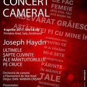 Concert Cameral  Joseph Haydn – Ultimele şapte cuvinte ale Mântuitorului pe Cruce