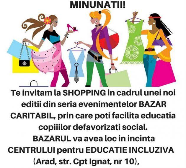 Bazar caritabil pentru copii