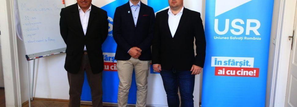 USR și-a lansat candidatul pentru Primăria Almaș