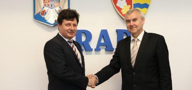 Ambasadorul Belarusiei în vizită la CJA