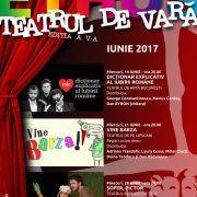 Pentru o perioadă de trei luni, se deschide Teatrul de Vară