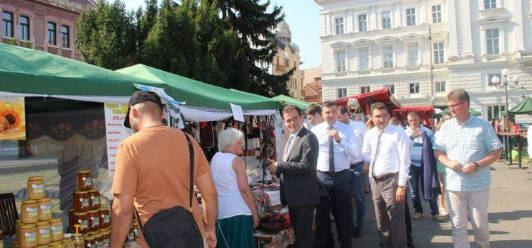 """Iustin Cionca este nervos că instituțiile controlează """"Produs în Arad"""""""