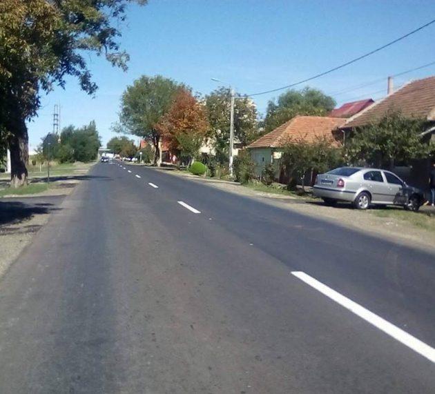 S-au încheiat lucrările de reabilitare de pe strada 6 Vânători