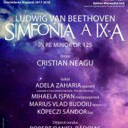 Se deschide noua stagiune de la Filarmonica Arad cu Simfonia a IX-a